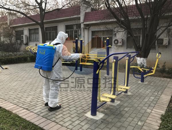 乐虎国际网址社区消毒
